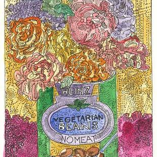 Art: ECONOMICAL BEANS by Artist Theodora Demetriades