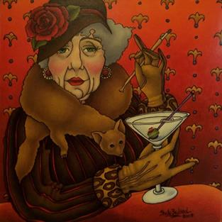 Art: Dirty Martini by Artist Shelly Bedsaul