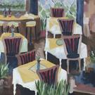 Art: Les Fauves Bistro by Artist Gail Meyer