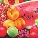 Art: Fruit by Artist Paula M Parker