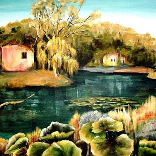 Art: A Quiet Place by Artist Diane Millsap