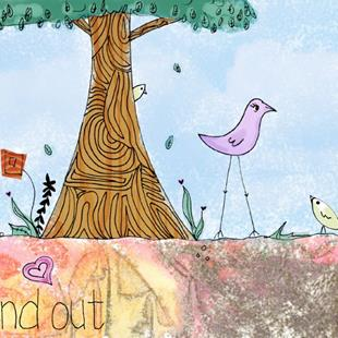 Art: Stand Out by Artist Aimee Marie Wheaton