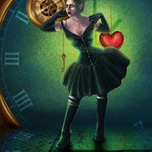 Art: Clockwork Heart by Artist Tiffany Toland-Scott