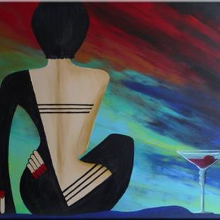 Art: ORIGINAL FIGURATIVE abstract PAINTING MODERN Art    -     SOLD by Artist Nataera