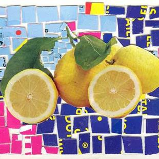 Art: MAKE LEMONADE OUT OF LEMONS by Artist Theodora Demetriades