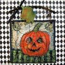 Art: Halloween by Artist Catherine Darling Hostetter