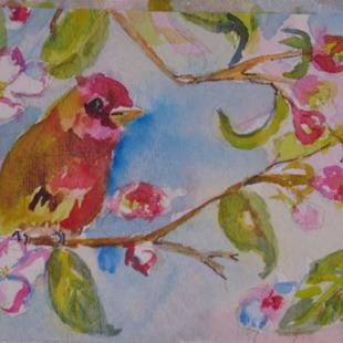 Art: Apple Blossom by Artist Delilah Smith