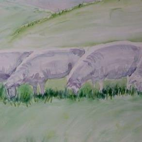 Art: The Grazers by Artist Kathleen Ralph