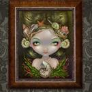 Art: Crown of Shells by Artist Jasmine Ann Becket-Griffith