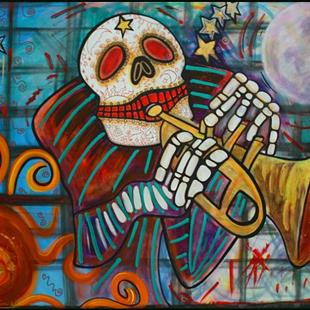 Art: DAY OF THE DEAD by Artist Laura Barbosa