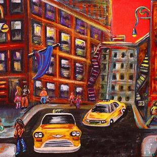 Art: SOHO by Artist Laura Barbosa