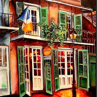 Art: Yo Mama's in New Orleans - SOLD by Artist Diane Millsap