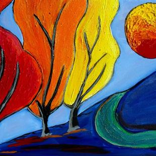 Art: Seasons RIP from Beth Fiedel by Artist Elizabeth Paige VanSickle