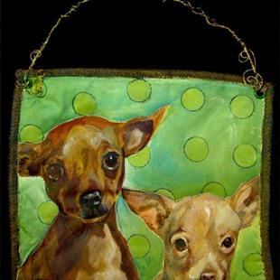 Art: Chihuahua Tails by Artist Catherine Darling Hostetter