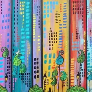 Art: Magic In The City by Artist Juli Cady Ryan