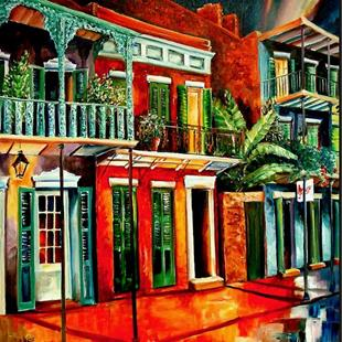 Art: Nawlins' Color - SOLD by Artist Diane Millsap