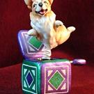 Art: Corgi MiniSeries '09, #7, Jack-in-the-Box! by Artist Camille Meeker Turner