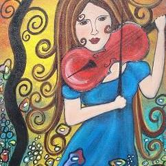 Art: Music In Her Soul by Artist Juli Cady Ryan