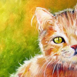 Art: ME MEOW ~ SWEET KITTY SERIES by Artist Marcia Baldwin