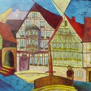 Art: Miltenberg by Artist Lelo Colclough
