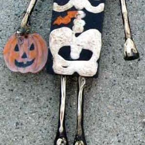 Art: SkellyTony by Artist Catherine Darling Hostetter