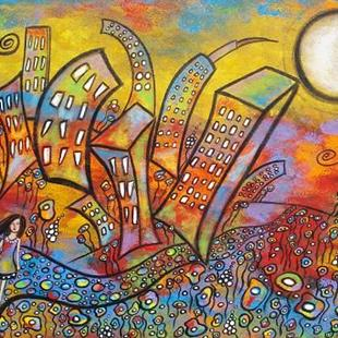 Art: Country Meets City by Artist Juli Cady Ryan