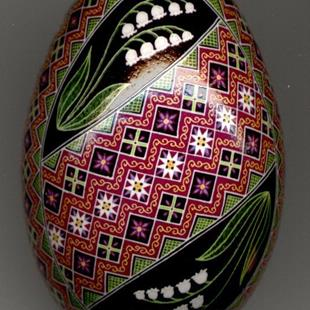 Art: EBSQ Lily of the Valley Turkey Egg by So Jeo Side 1a.jpg by Artist So Jeo LeBlond