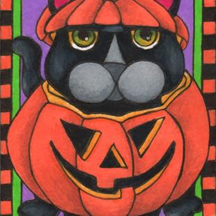 Art: Don't You Dare Call Me Pumpkin (sold) by Artist Shelly Bedsaul