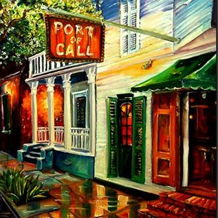 Art: Port of Call - New Orleans- SOLD by Artist Diane Millsap