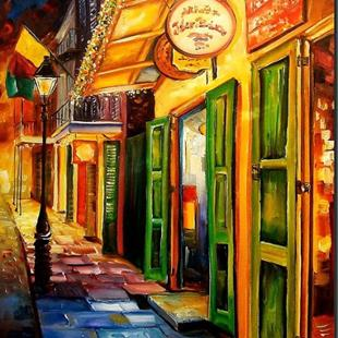 Art: Goin' Back to New Orleans - SOLD by Artist Diane Millsap