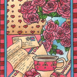 Art: Love Letters by Artist Shelly Bedsaul