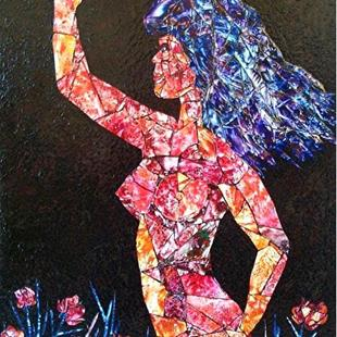 Art: I Am Woman by Artist Ulrike 'Ricky' Martin