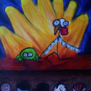 Art: Zombie Chicken Dance Contest by Artist Kelli Ann Dubay