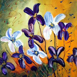 Art: IRISES by Artist LUIZA VIZOLI