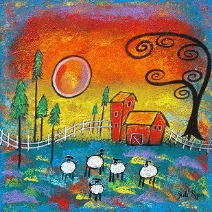 Art: The Magical Farm by Artist Juli Cady Ryan