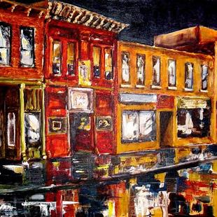 Art: After Hours by Artist Diane Millsap