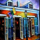 Art: Bourbon Street Rocks! - SOLD by Artist Diane Millsap