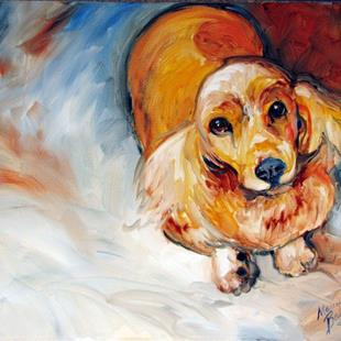 Art: LADY SPANIEL by Artist Marcia Baldwin