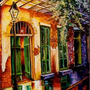 Art: New Orleans Mystery - SOLD by Artist Diane Millsap