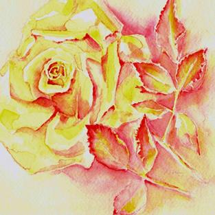Art: Riley's Rose - private collection by Artist victoria kloch