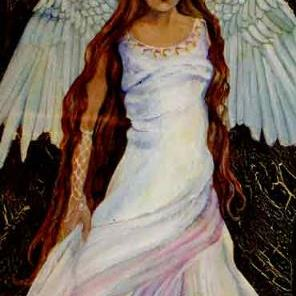 Art: Dancing Angel by Artist Catherine Darling Hostetter
