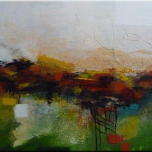 Art: ORIGINAL abstract LANDSCAPE PAINTING,acrylic on canvas      -   SOLD by Artist Nataera