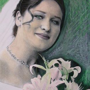 Art: Carissa the Bride by Artist Sherry Key