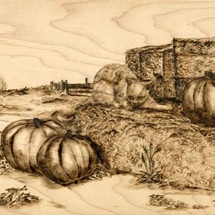 Art: Punkin by Artist Shirley James
