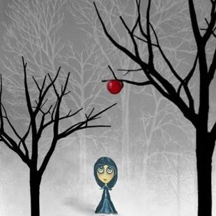 Art: Apple In Winter by Artist Charlene Murray Zatloukal