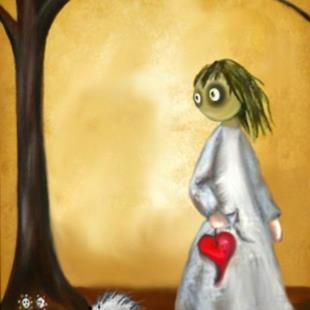 Art: Love Hurts by Artist Charlene Murray Zatloukal