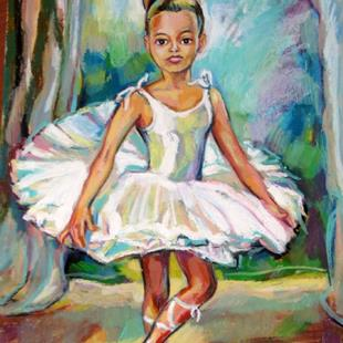 Art: Young Ballet Dancer by Artist Luda Angel