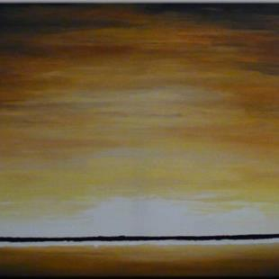 Art: ORIGINAL abstract LANDSCAPE PAINTING,acrylic on canvas  by Artist Nataera
