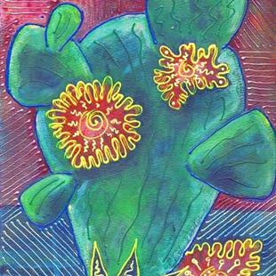 Art: Prickly Pear by Artist Christine Wasankari