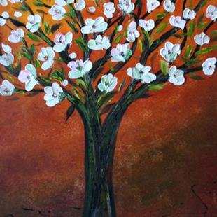 Art: FLOWERING TREE by Artist LUIZA VIZOLI